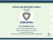 ASTHO and NACCHO Key Features