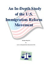 A Study on Immigration Reform in th...