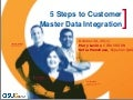 Asug 5 stepscustomermasterdatainteg