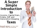 A super simple introduction to taxes