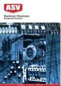 ASV Electrical Electronic Cleaners Selection Chart 2011