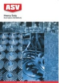 ASV Heavy Duty Corrosion Inhibitors Selection Guide 2011