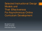 Asynchronous curriculum creation an...