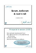 Scrum, iceScrum et Rock'n Roll
