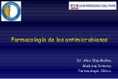 Antibioticos 1 Dr Diaz
