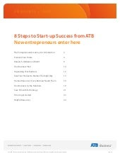 ATB Business Start-up Guide, for ne...