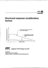 Atc 19 structural response modification factor by applied technology council, 1995