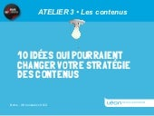Atelier 3 Intervention de G Stein s...