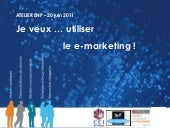 Atelier sur le e-marketing - ENP de...