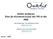 Atelier Pratiques Sites De E Commer...