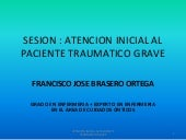 Atencion inicial al paciente trauma...