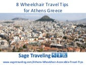 8 Wheelchair Travel Tips For Athens...