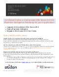 Atidan SSDPS - Microsoft Planning Services for SQL Server and Business Intelligence