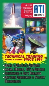NEW catalog of ATI courses on Acous...