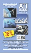 New catalog of ATI courses on Space, Satellite, Radar, Missile, Defense & Systems Engineering with courses from August 2013 to April 2014