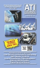 New catalog of ATI courses on Space...