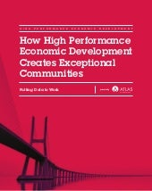 Atlas High Performance Economic Development White Paper 2015