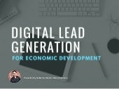 Digital Lead Generation for Economic Development