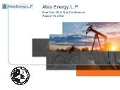 Atlas Energy LP video