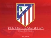 Atletico Madrid - 10 Match Tactical Analysis