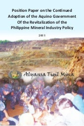 ATM Policy Paper on Mining in the P...