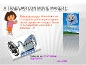 A trabajar con movie maker !!!