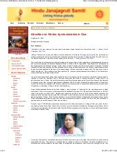 Atrocities on hindus by missionarie...