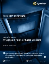 Demystifying Attacks on Point of Sales Systems