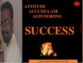 Attitude & success   roby vincent