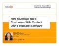 How to Attract More Customers With Content Using Hubspot
