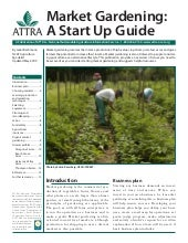 Market Gardening: A Start-up Guide