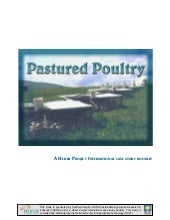Pastured Poultry: An HI Case Study ...