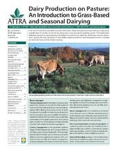 Dairy Production on Pasture: An Int...