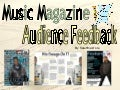 Audeince feedback music magazine