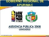 Audiencia Publica 2008 Chincheros -...