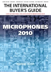 AudioMedia Microphone Guide 2010