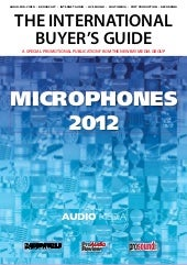 Audio media microphone guide 2012