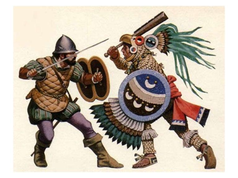 Guerreros que realmente existieron  en la Civilización Azteca Audioslideshow-111112150428-phpapp02-thumbnail-4