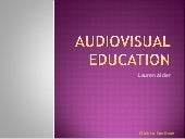 Audio visual education_powerpoint