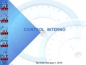 Auditoria - Control interno