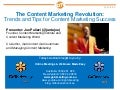 Content Marketing Tips and Trends - Funnel 2012 Australia - Pulizzi