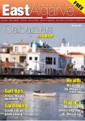 East Algarve Magazine - AUGUST 2010