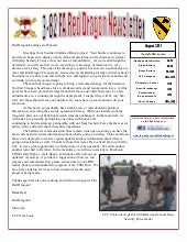 Red Dragon Newsletter, August 2011