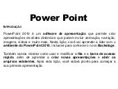 Aula de reforço de Power Point