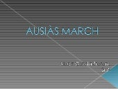 Ausiàs march(Albert Garcia)
