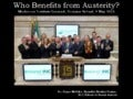 Who Benefits From Austerity? Mechanics Institute Limerick, May 2013