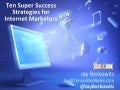 Australia Affiliate Sydney Ten Super Success Strategis For Internet Marketing