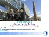 eParticipation and eDemocracy in Au...