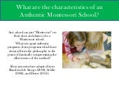 Authentic Montessori Powerpoint