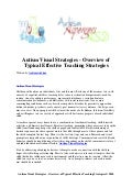 Autism visual strategies   overview of typical effective teaching strategies